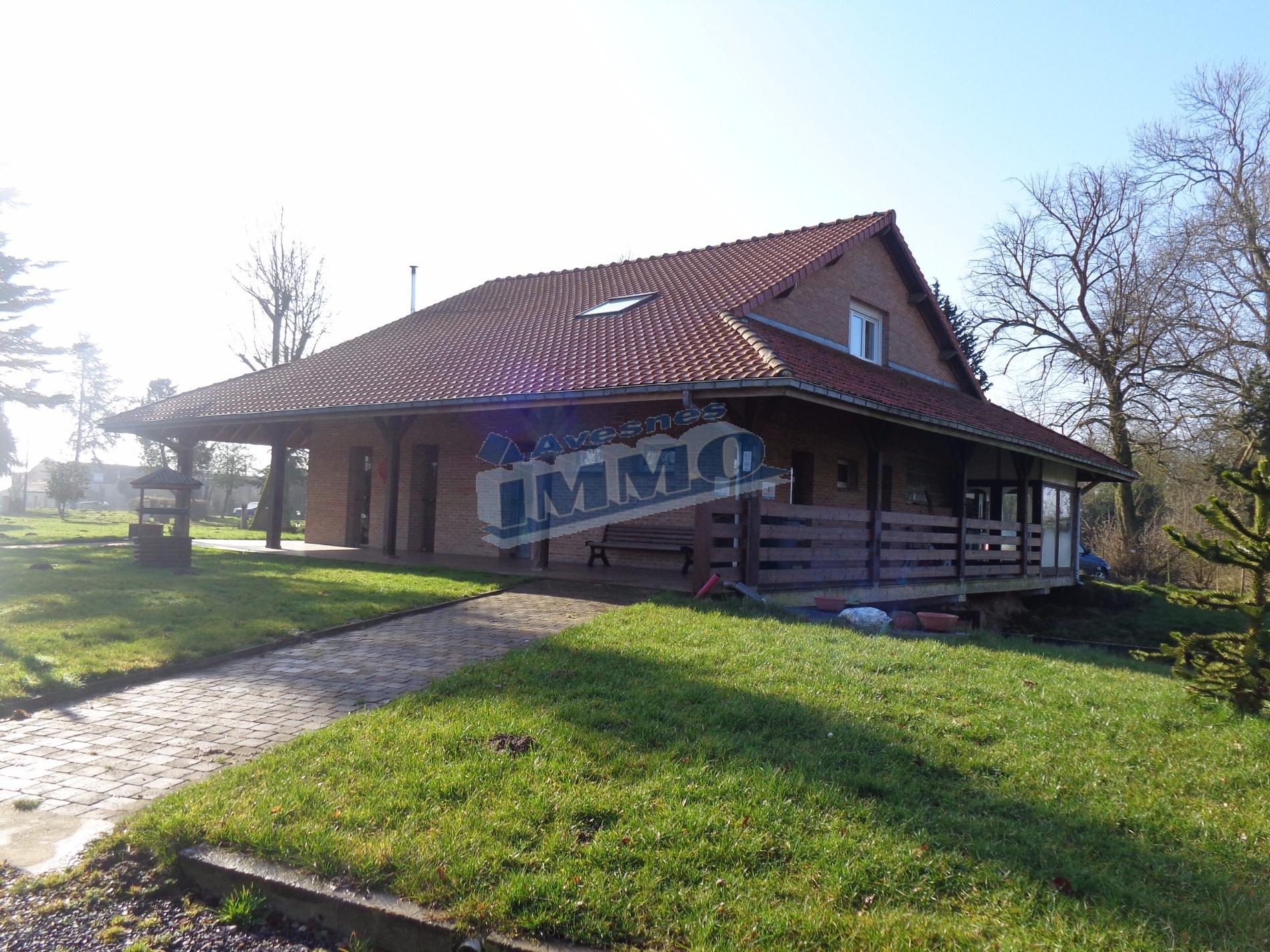 Vente habitation sur 2 hectares 400 secteur d 39 aubigny for Vente habitation