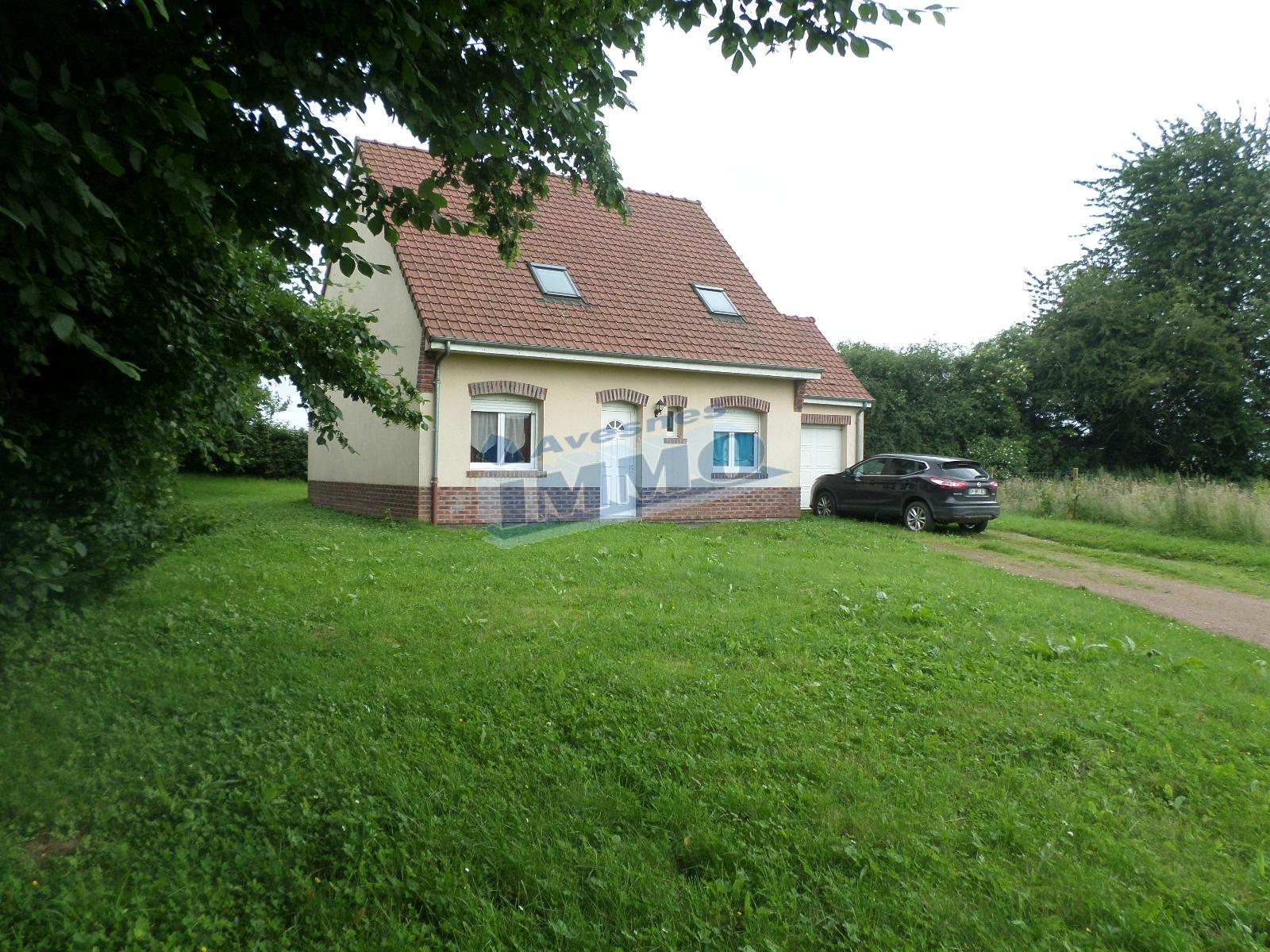Offres de location Maison Avesnes le comte 62810
