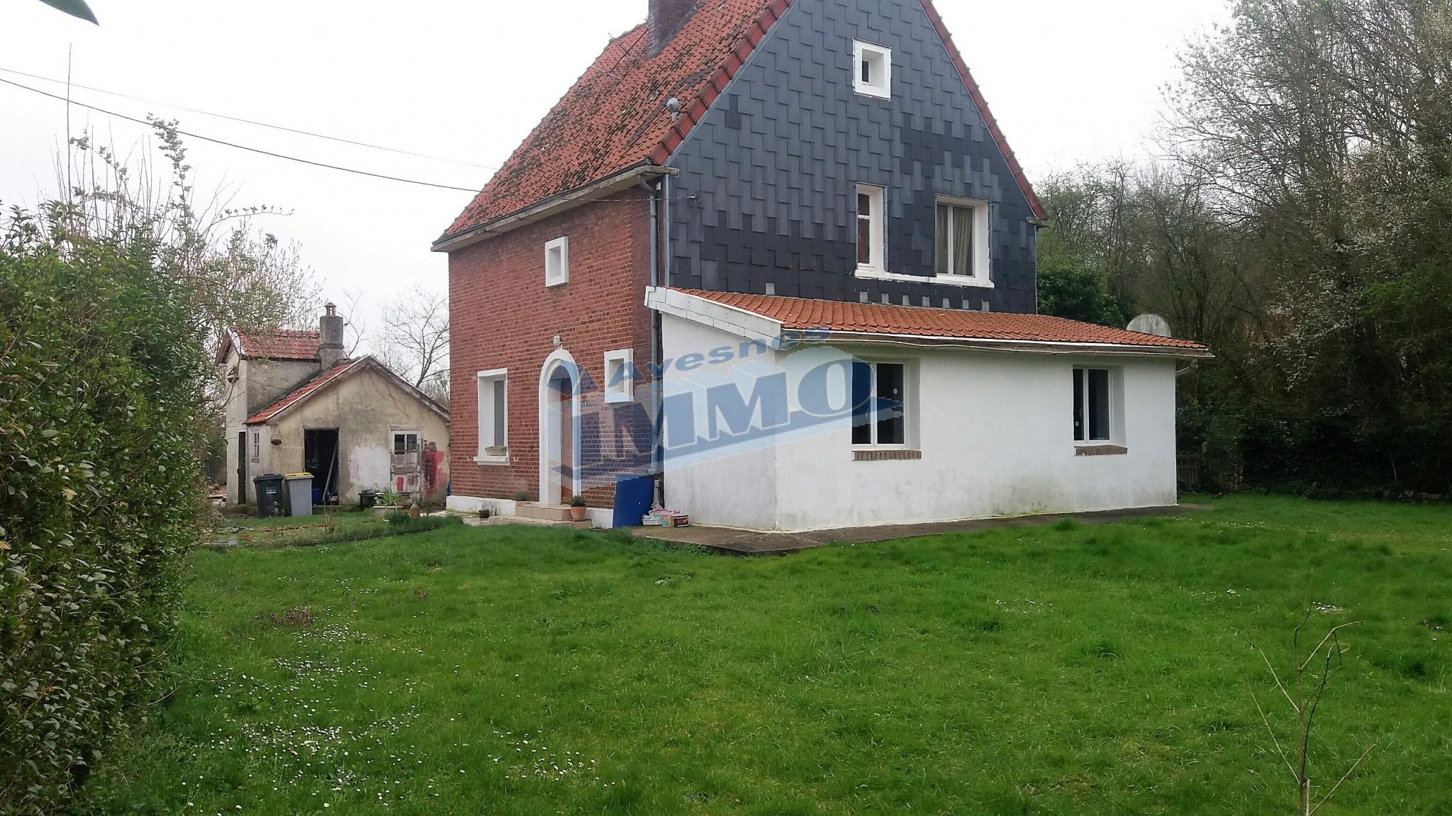 Vente Maison Maison individuelle sur frèvent  à Frevent